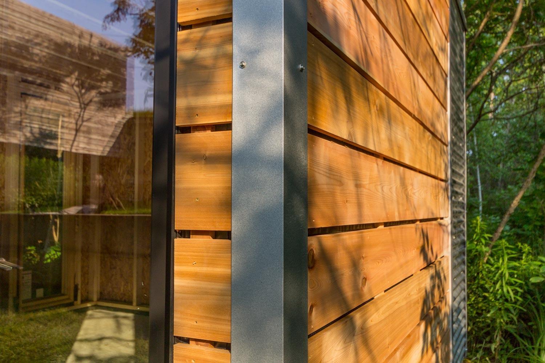 Cedar Siding Close-up