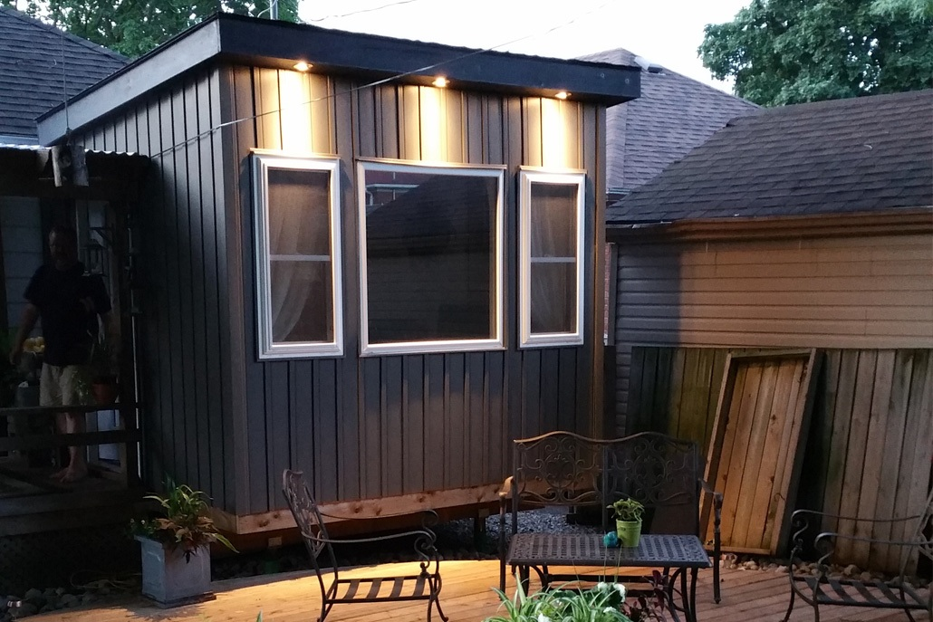 Custom Board and Batten Shed