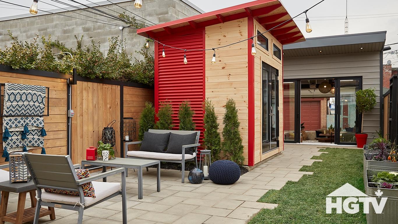 HGTV Backyard Builds Project