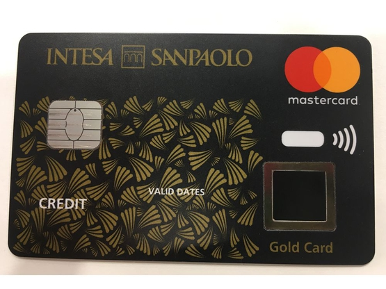 Italy's First Biometric Contactless Payment Card Pilot