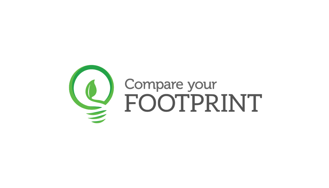 Compare your footprint logo