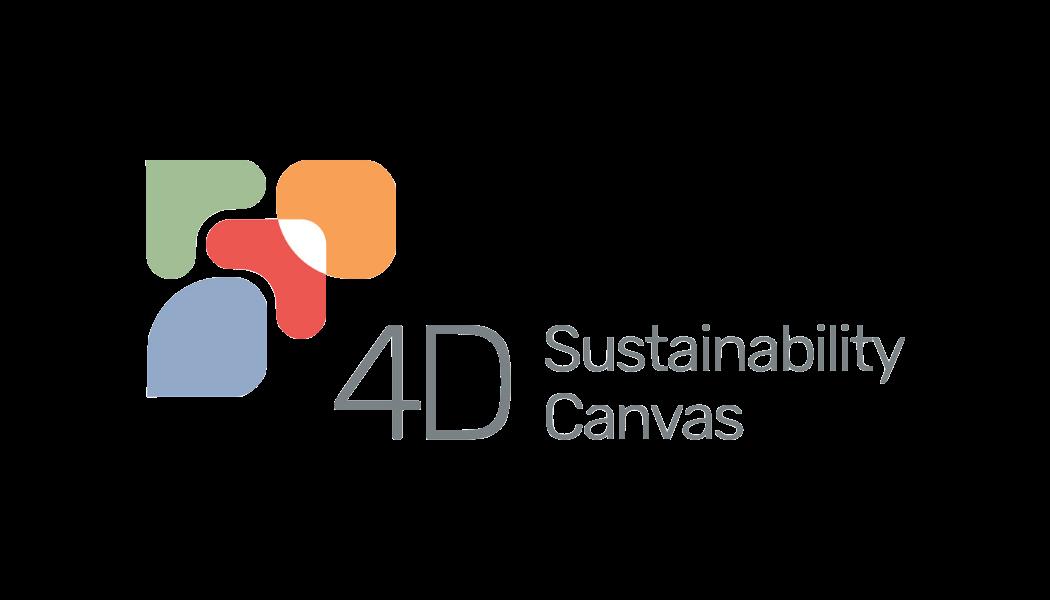 4D sustainability canvas logo