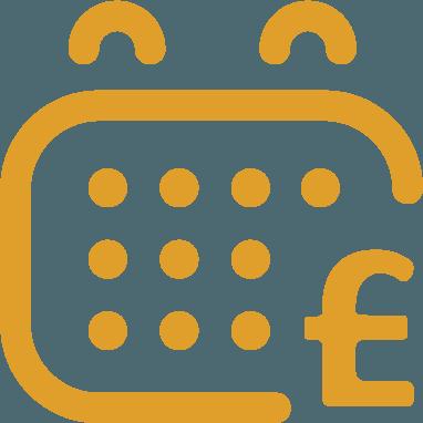 Payment calendar icon