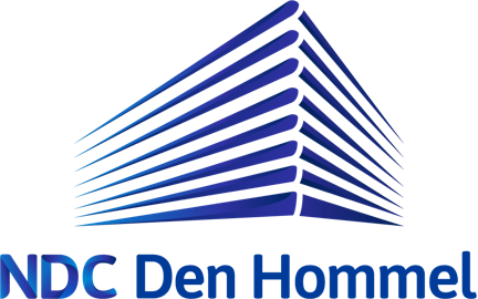 NDC Den Hommel Logo blauw