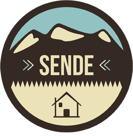 A logo of Sende, where Village nomads project was born