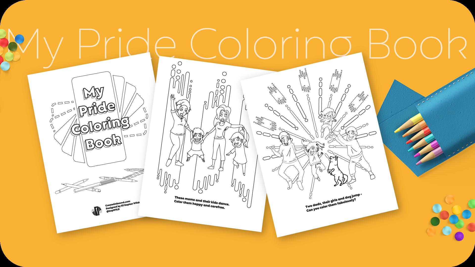 My Pride Coloring Book
