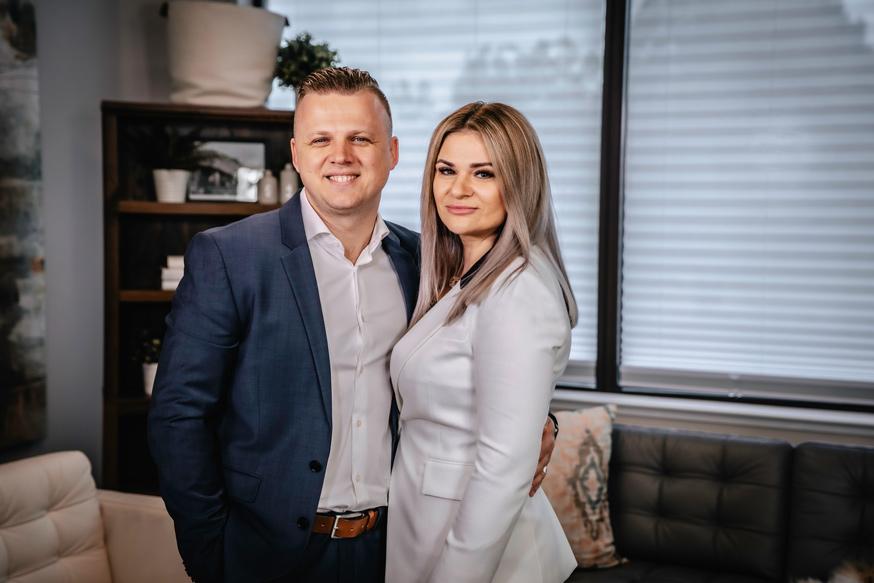 Andrey and Natasha Shapoval