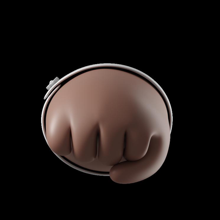 Illustration of a fist