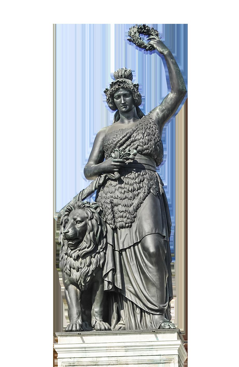 Wiesn Dahoam Bavaria Statue