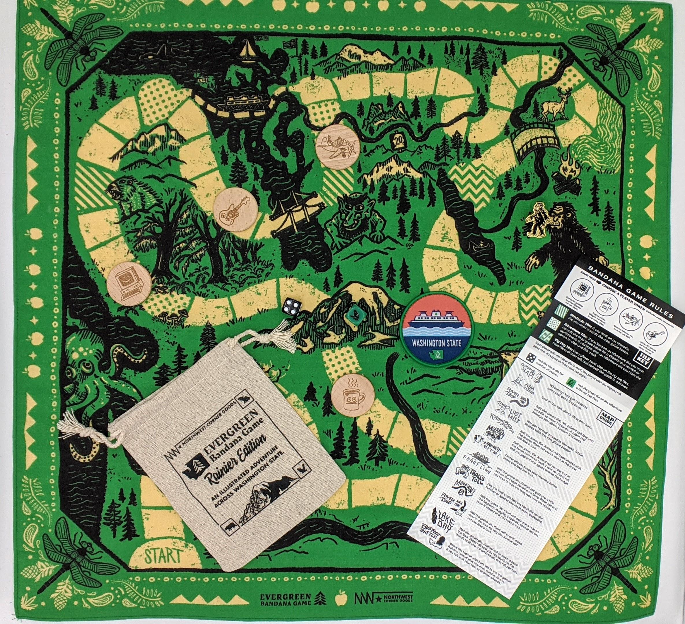 The Evergreen Bandana Game