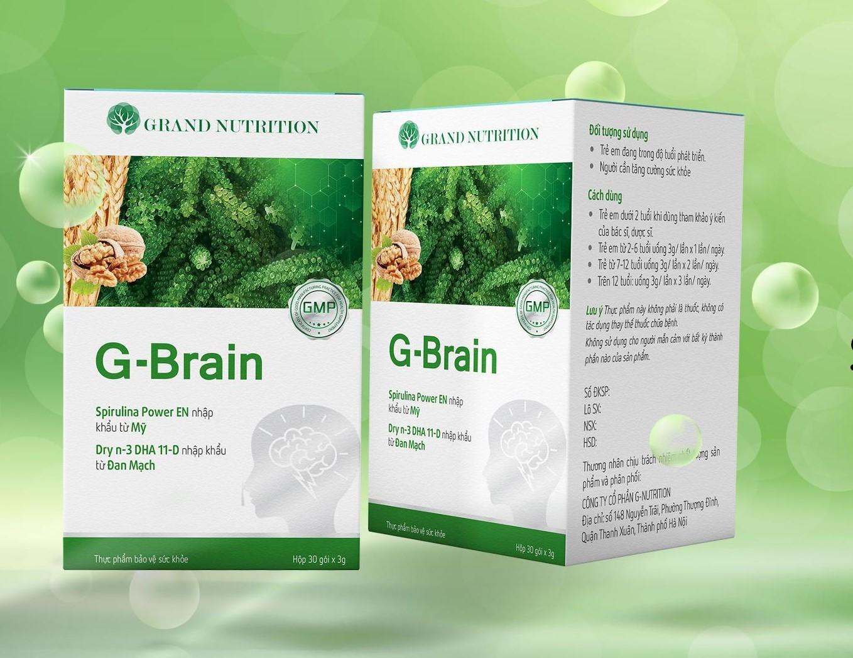 G-BRAIN REVIEW: Cốm trí não có tốt không? Mua ở đâu chính hãng? Giá bao nhiêu?