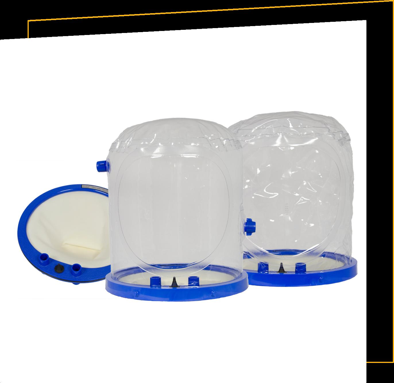 Helmet-based ventilation for covid 19