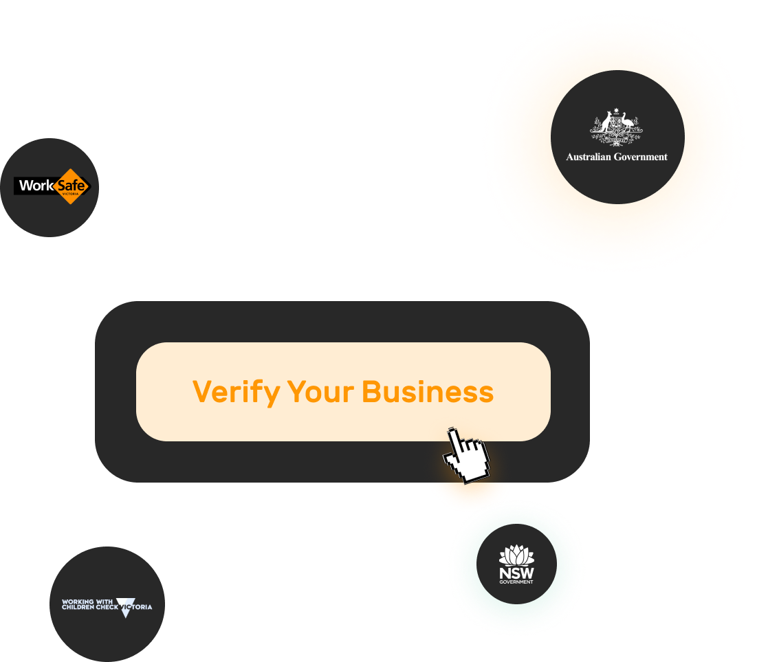 Image which includes verifying your business across many authorised platforms.