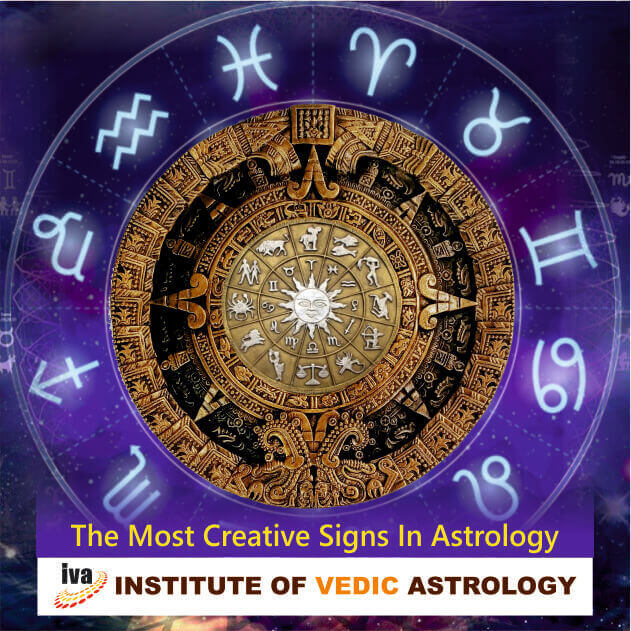 The most creative signs in Astrology