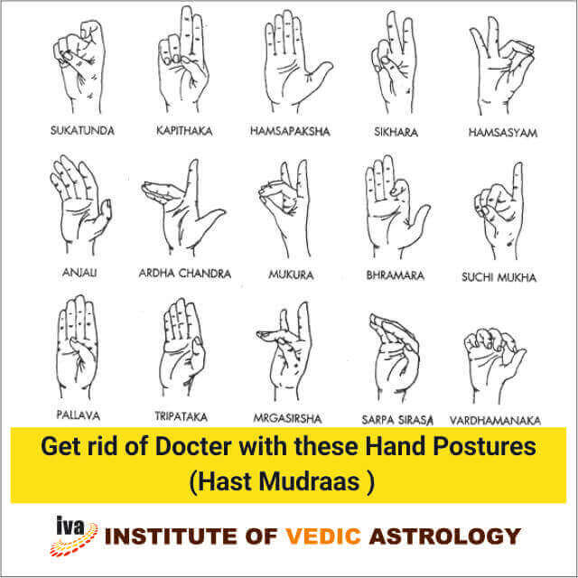 Get rid of Docter with these hand postures (Hast Mudras)