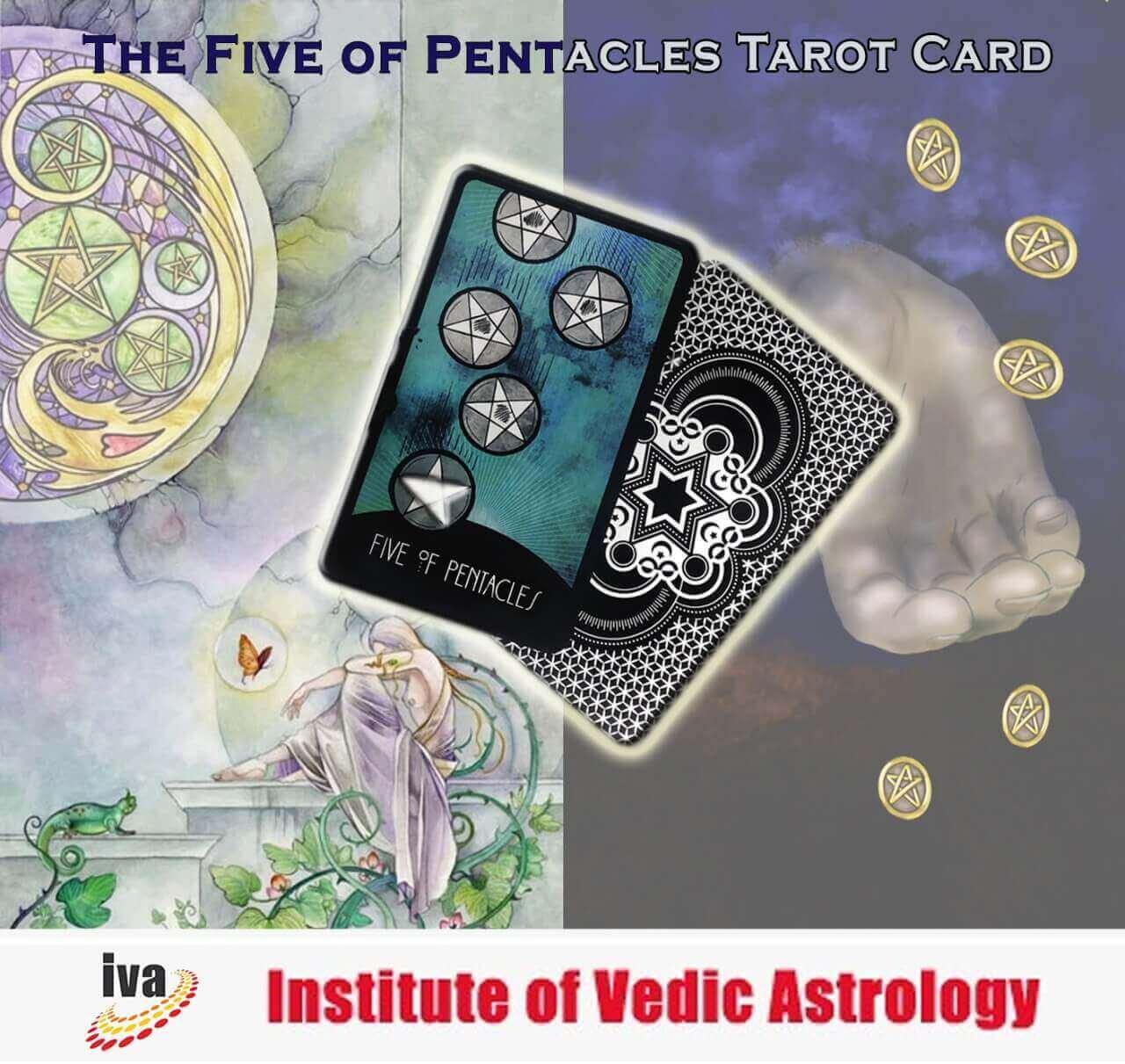 The Five of Pentacles Tarot Card