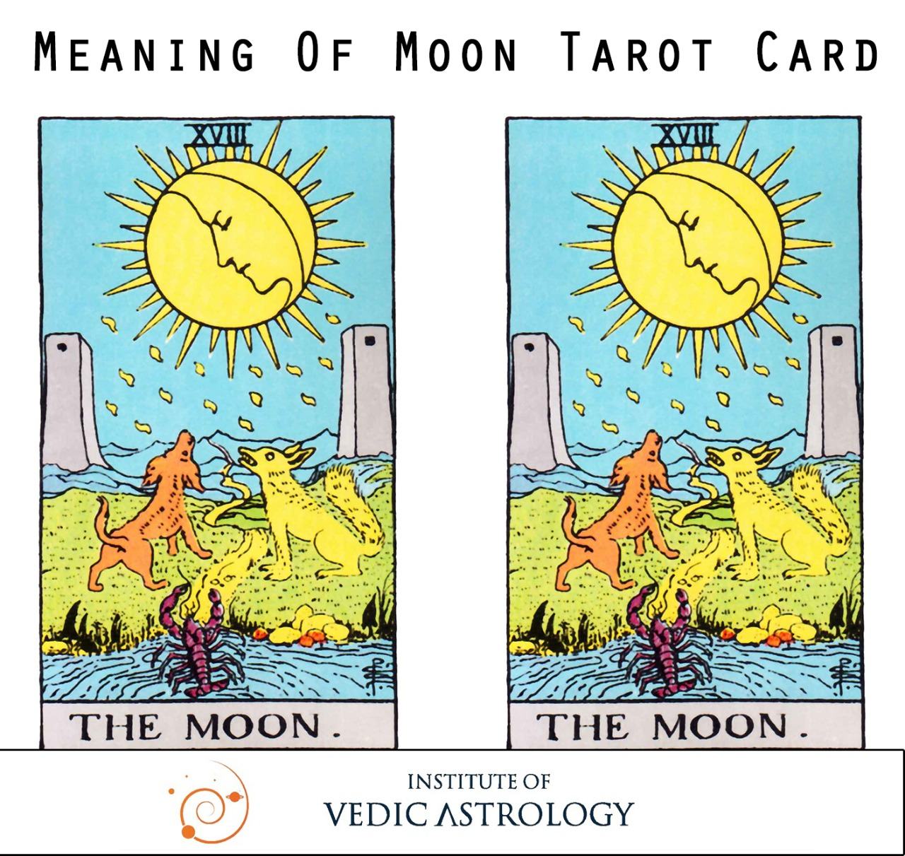 MEANING OF MOON CARD IN TAROT
