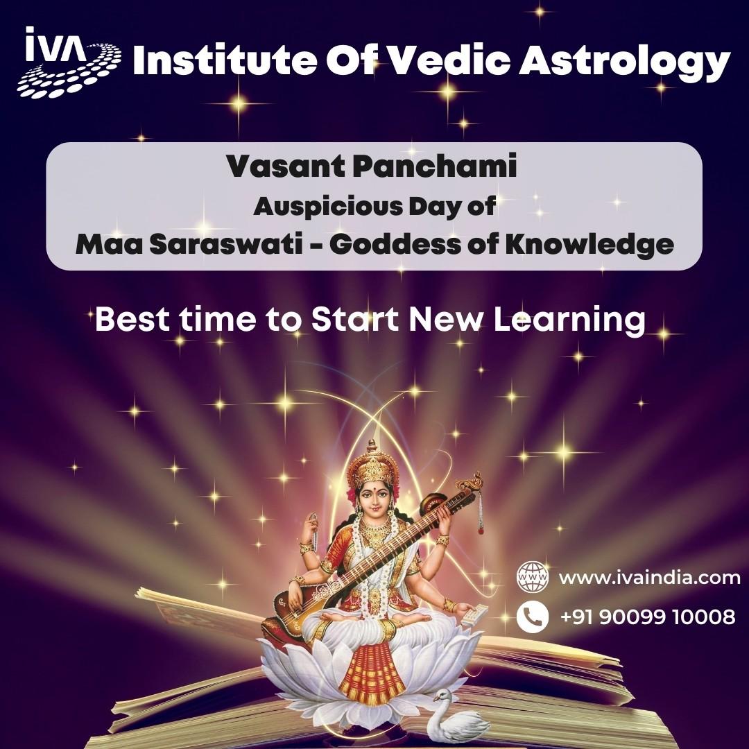 Vasant Panchami – Auspicious Day of Maa Saraswati