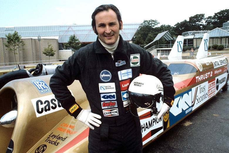 Richard Noble OBE with Thrust