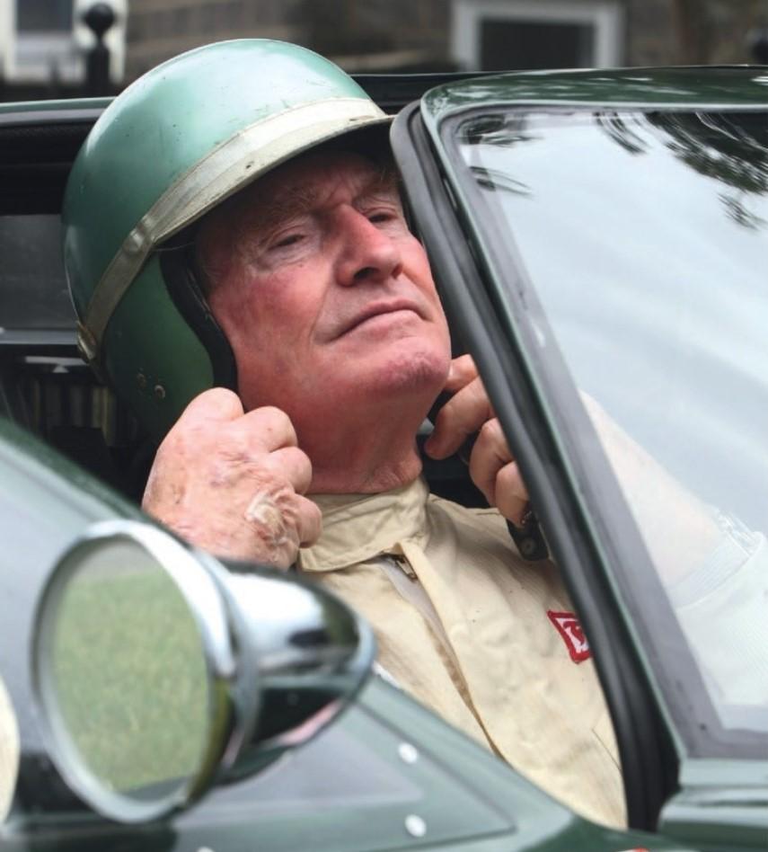 Racing driver Peter Sutcliffe