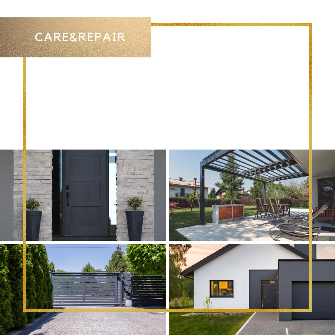 Reinig, renoveer en bescherm uw garage, deuren en ramen