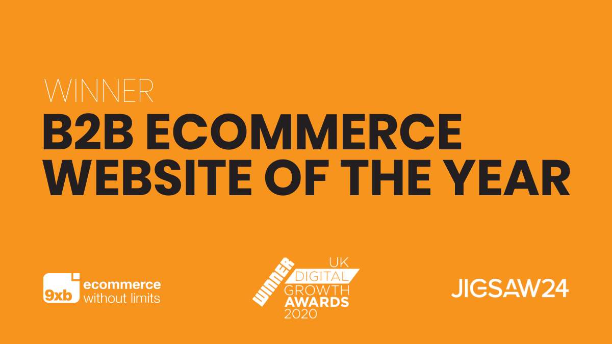 9xb and Jigsaw24 take home B2B eCommerce Website of the Year award