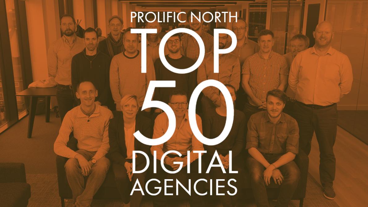 Prolific North welcomes 9xb into their Top 50 Digital Agencies.