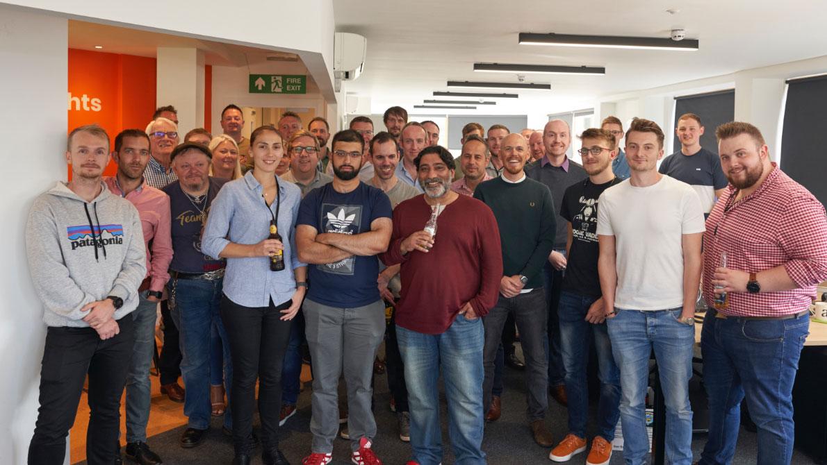 9xb celebrates move to Harrogate town centre office