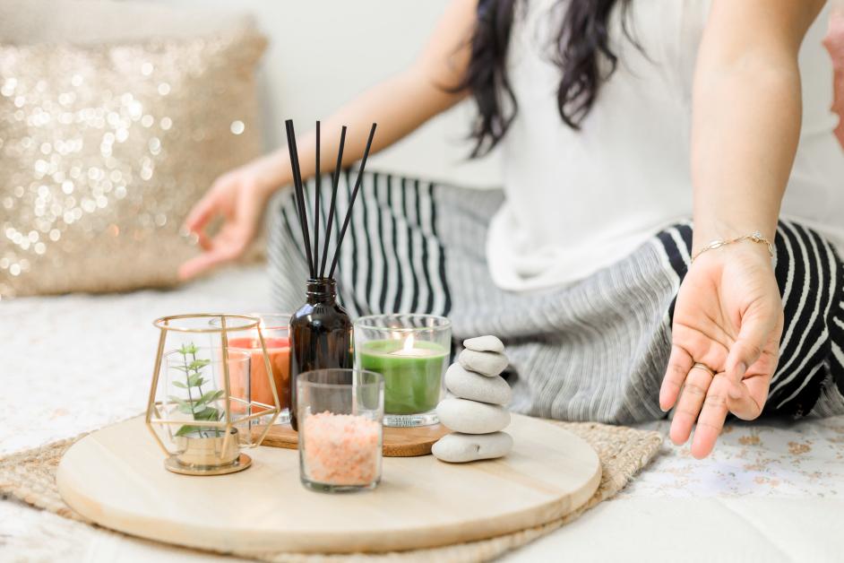 Ambiance zen pour méditation