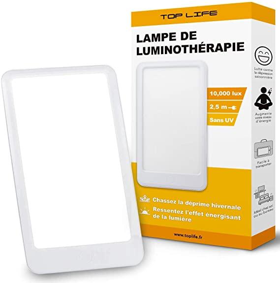 La lampe de luminothérapie de table Top Life