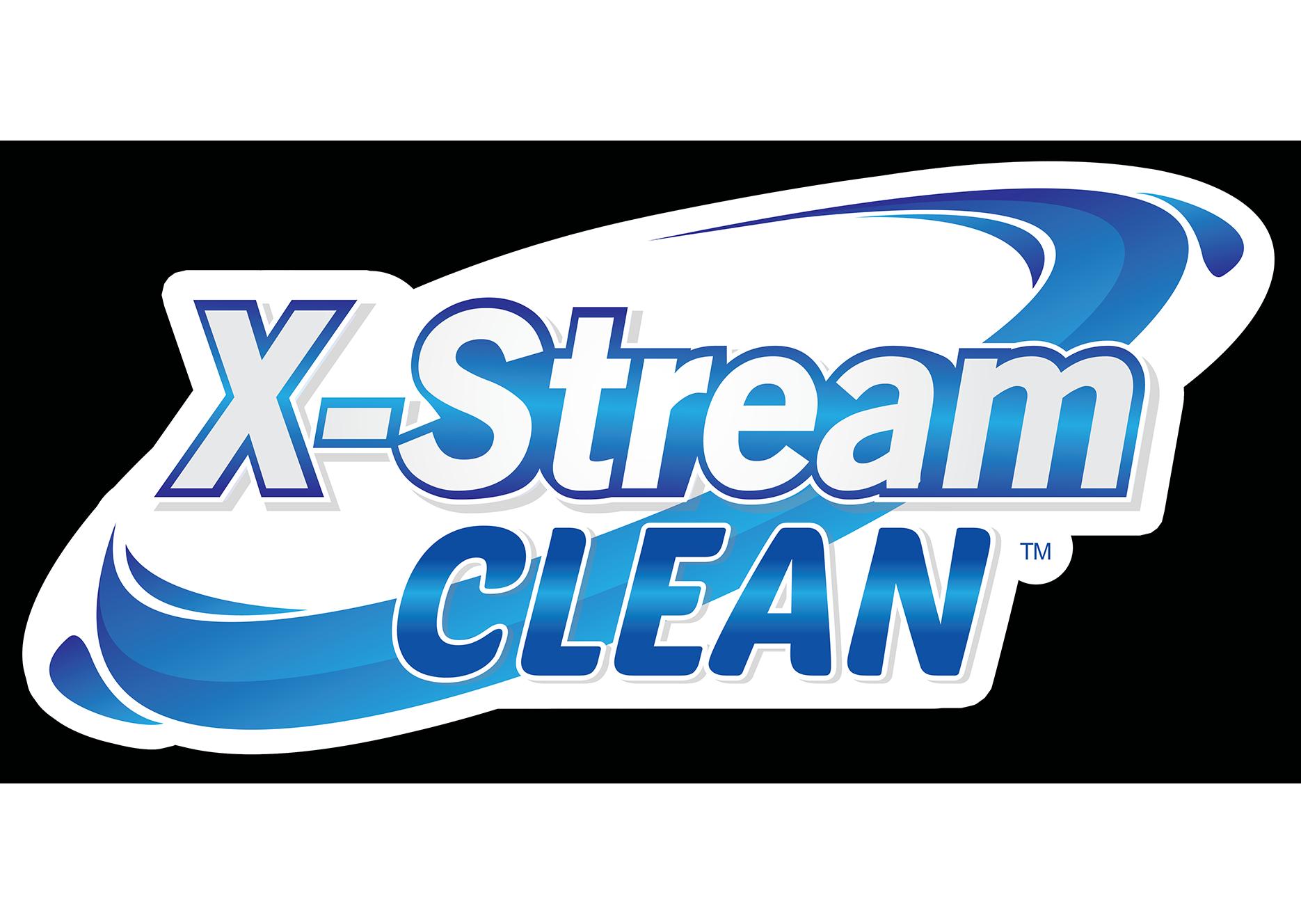 Official X-Stream Clean logo