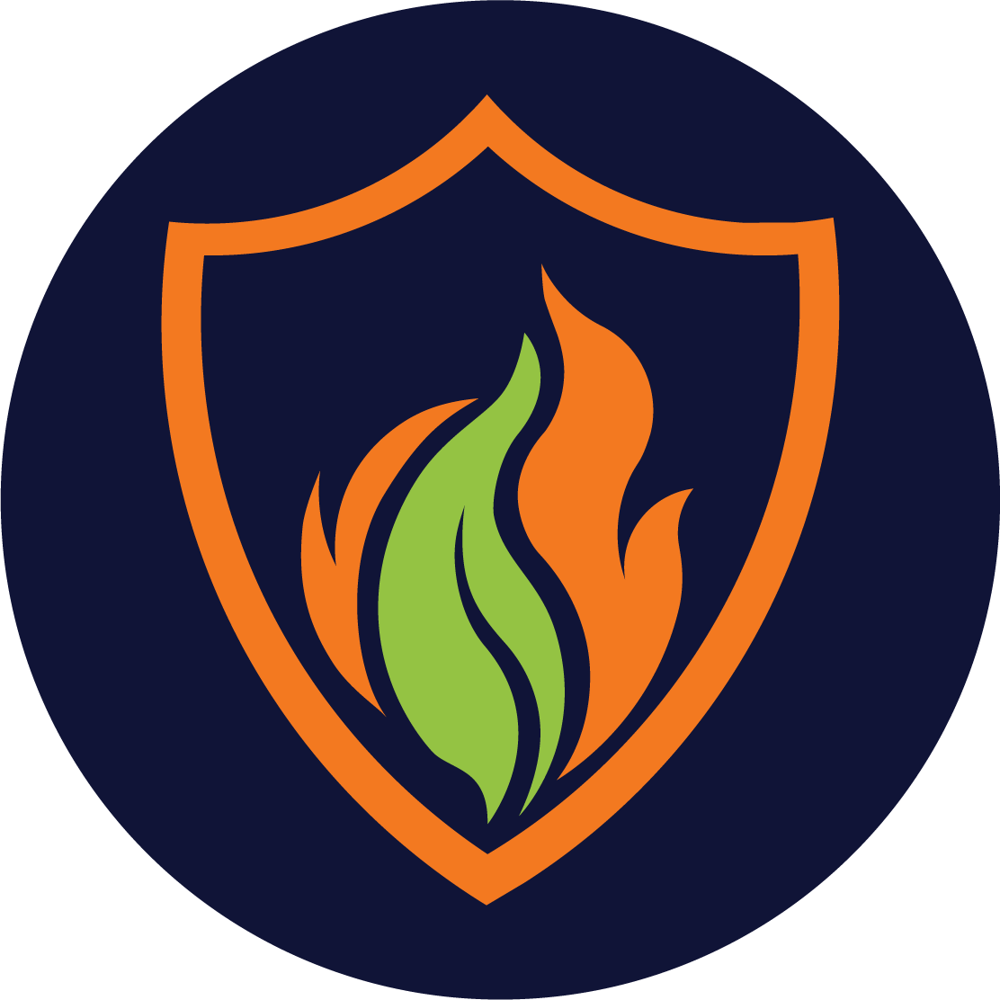 FlameSlayer colored  icon logo