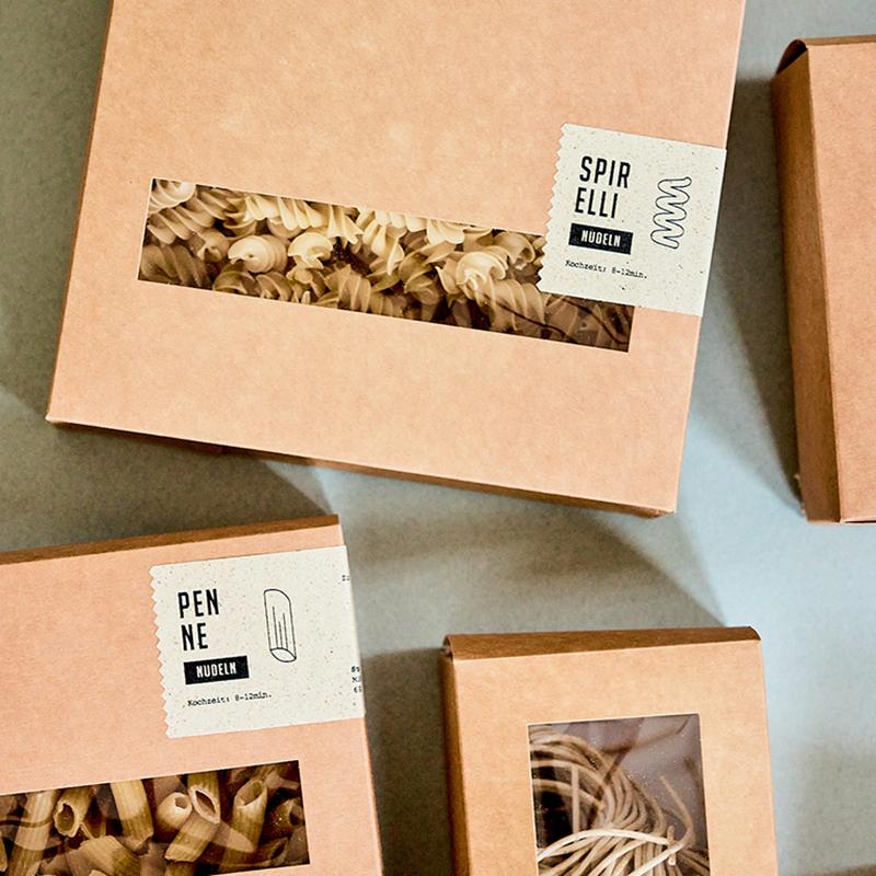 Bild von Nudelverpackungen