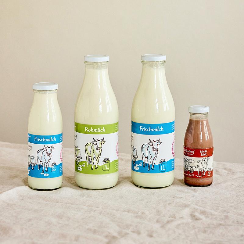 Bild von den Milchprodukten