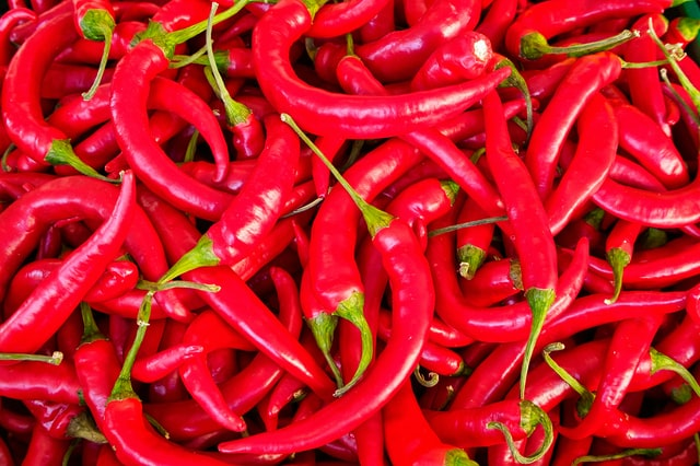 An image of chili peppers