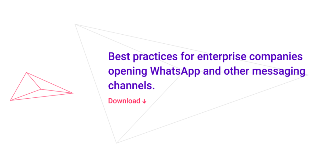 Best practices for opening WhatsApp and other Channels