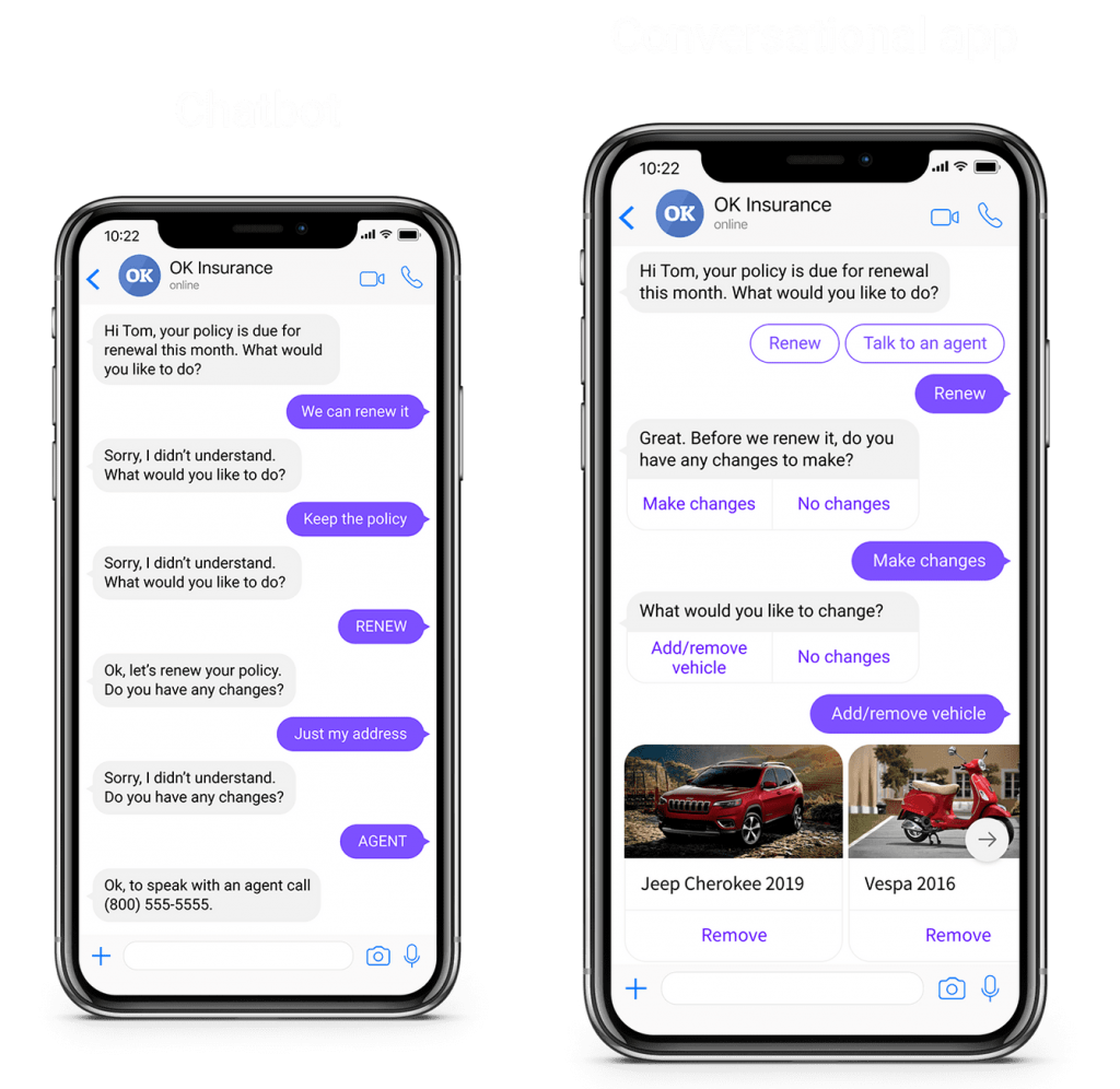 conversational app hubtype