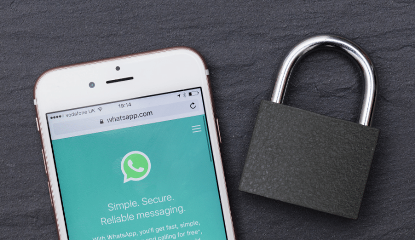 is whatsapp secure for b2c communication?
