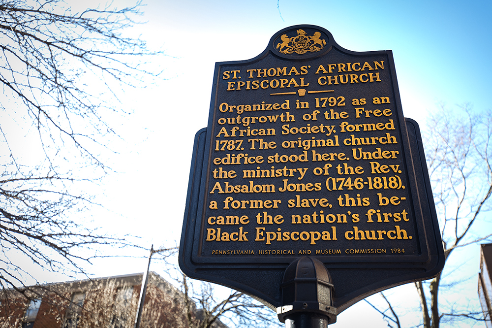 St. Thomas African Episcopal Historical Marker