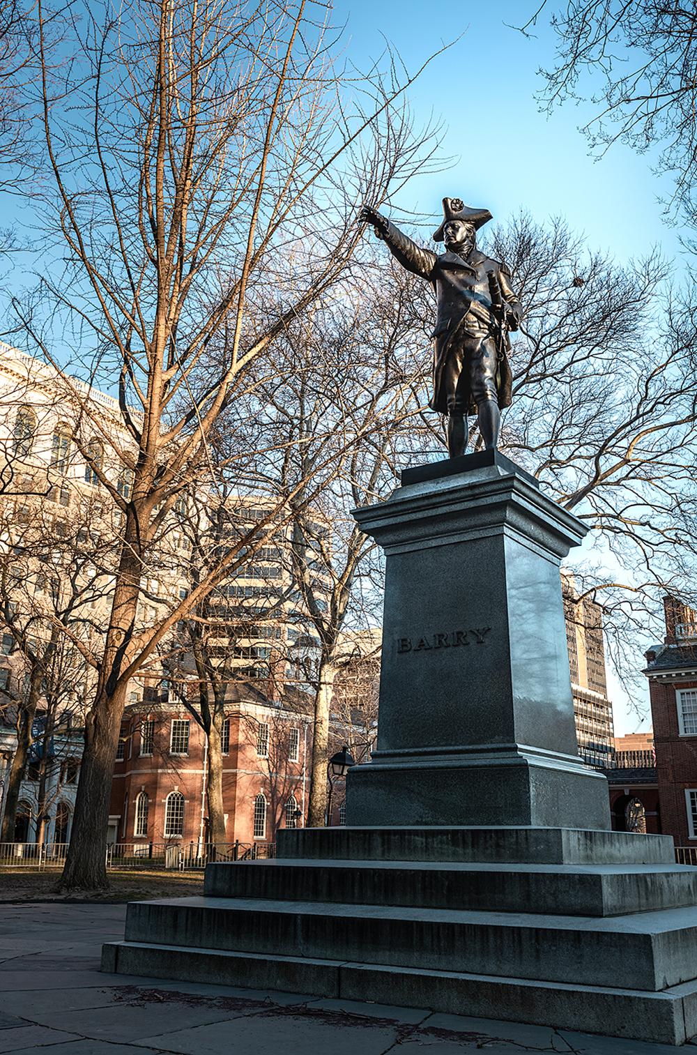 John Barry Statue