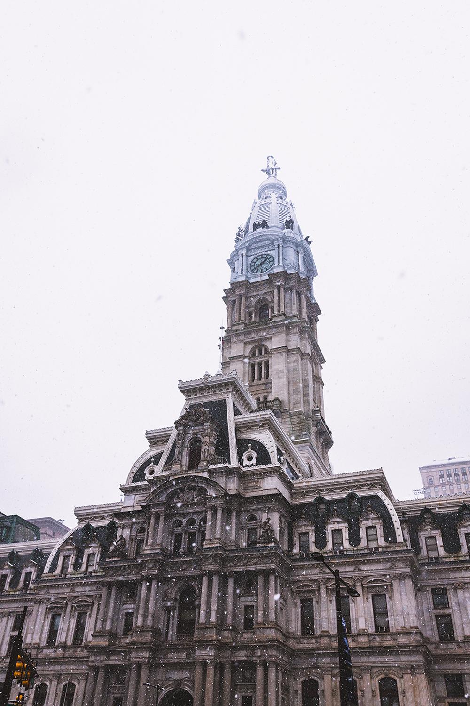William Penn Statue atop City Hall