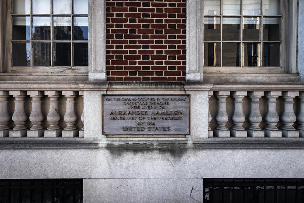 Site of Alexander Hamilton's Former Home