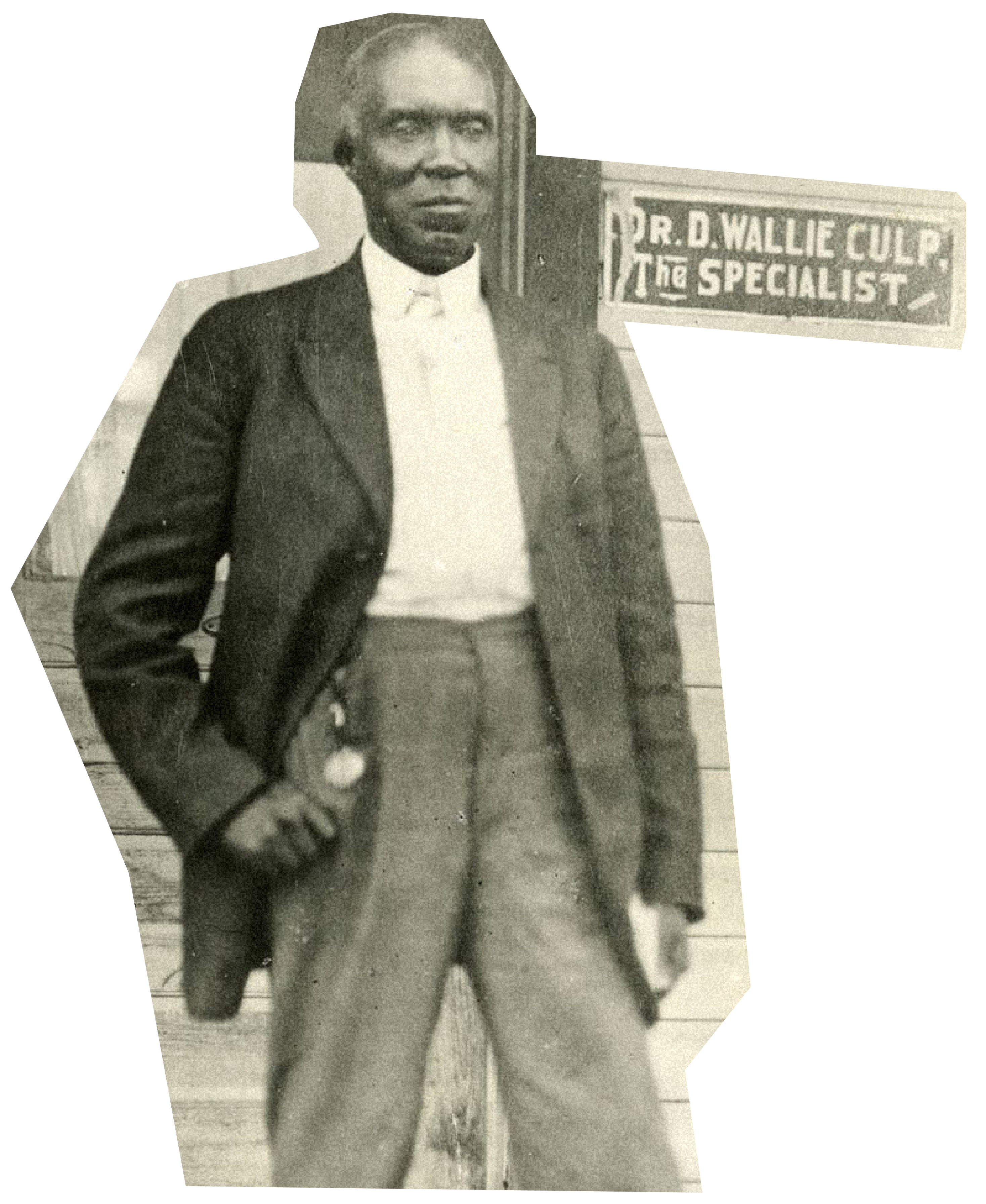Princeton Theological Seminary student Daniel Wallace Culp in the 1870s.