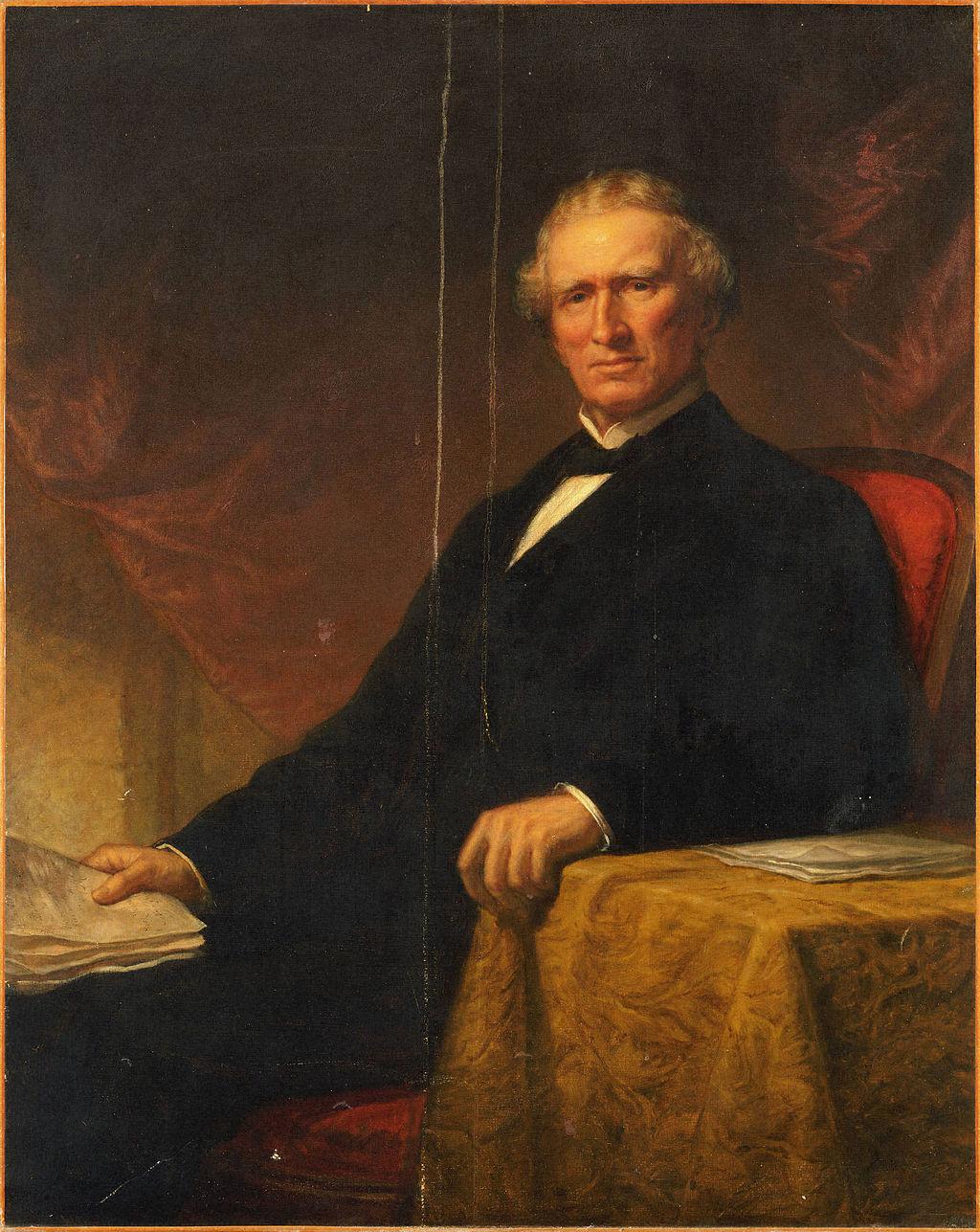 Princeton benefactor John Cleve Green in 1870.
