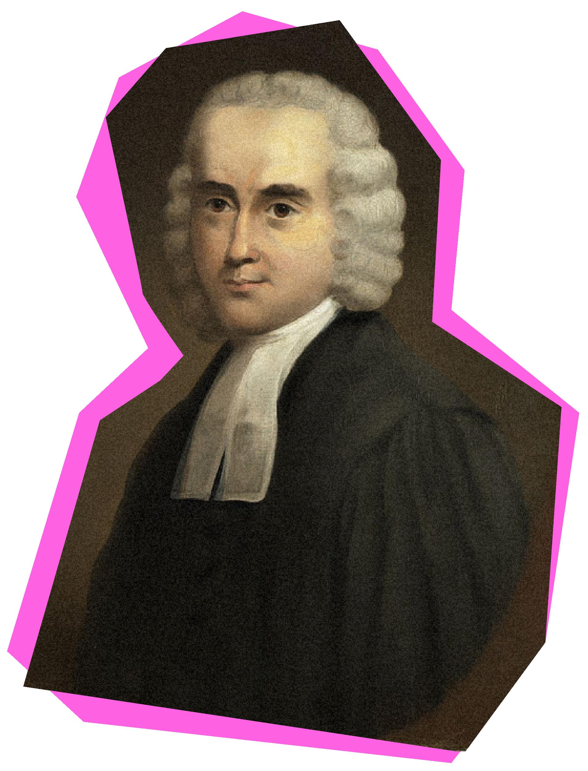 Portrait of Jonathan Dickinson, Princeton's first president.