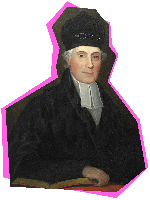 Portrait of Samuel Stanhope Smith, Princeton's seventh president.