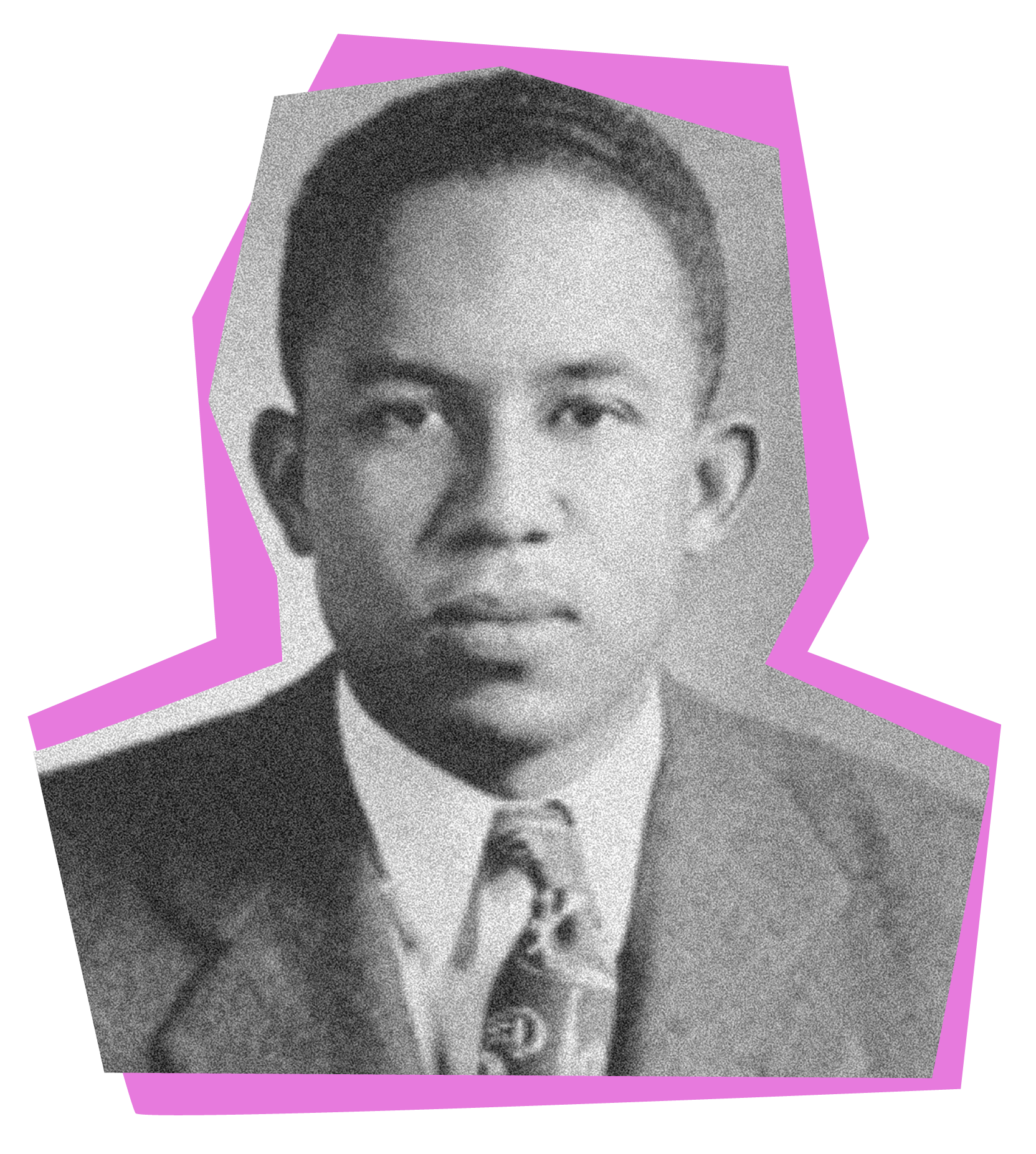 John Leroy Howard '47, Princeton's first Black student with an undergraduate degree, in the 1940s.