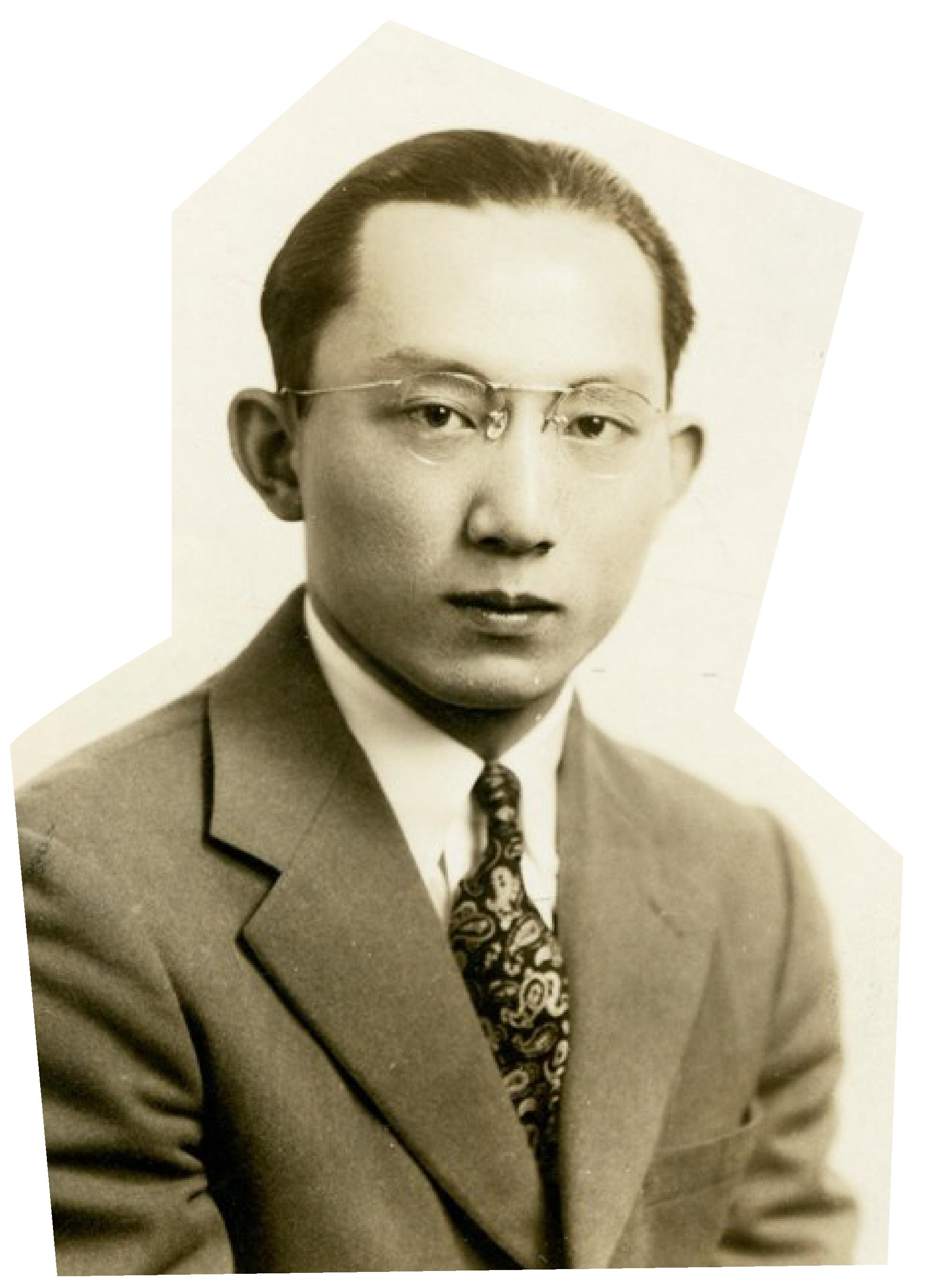 Kentaro Ikeda '44, a Japanese student at Princeton in the 1940s.