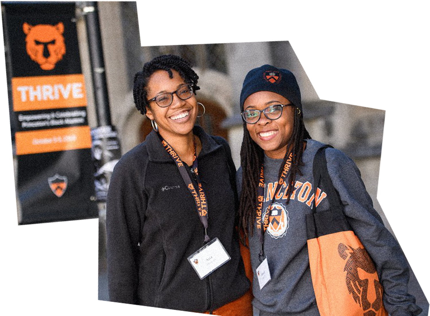 Princetonians posing during a conference for Black alumni in 2019.