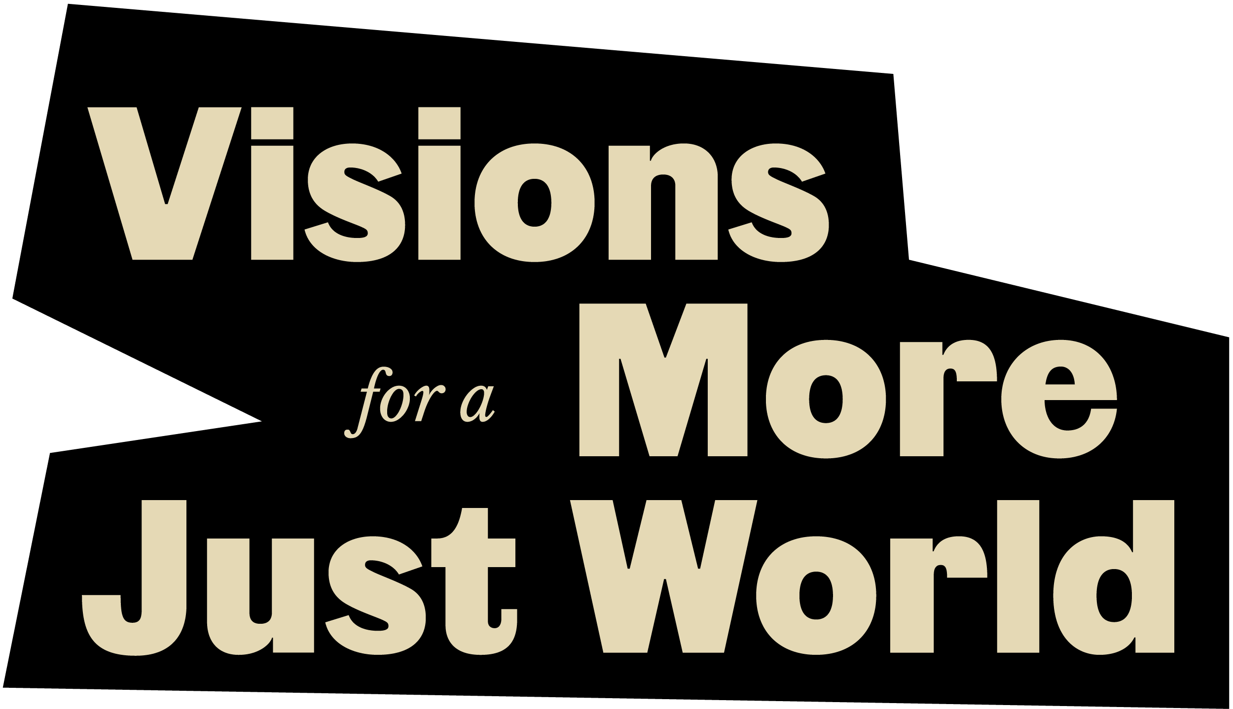 Visions for a more just world